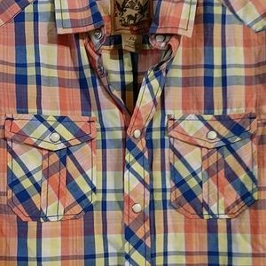Red Camel Shirts & Tops - Red Camel boys snap front shirt with pockets